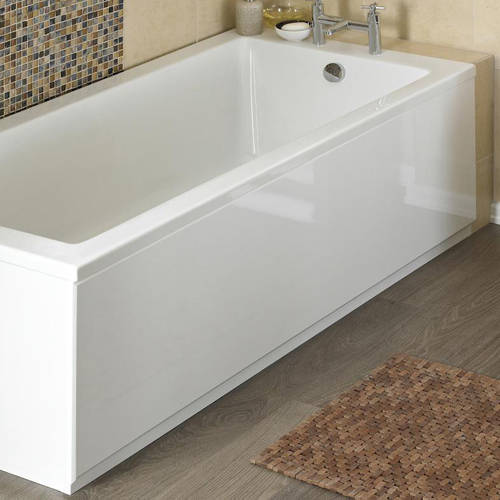 Additional image for Side & End Bath Panel Pack (Gloss White, 1700x700).