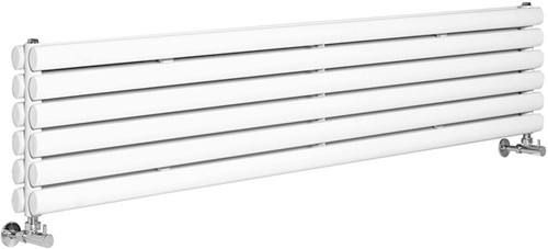 Additional image for Revive Radiator (White). 1800x354mm. 5964 BTU.