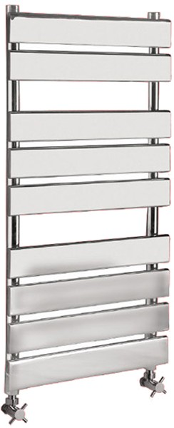 Additional image for Heated Towel Rail (Chrome). 500x950mm. 1159 BTU.