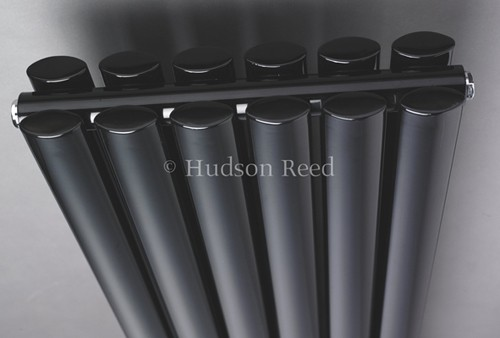 Additional image for Revive Radiator (Black). 1500x354mm. 4708 BTU.