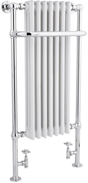 Additional image for Tall Marquis Towel Radiator. 1130x553 (Chrome).