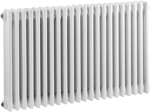 Additional image for 3 Column Radiator (White). 1011x600mm.