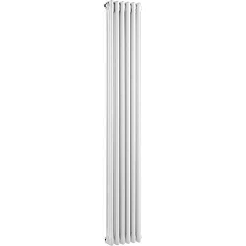 Additional image for 3 Column Vertical Radiator (White). 291x1800mm.