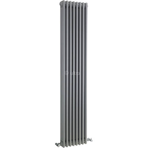Additional image for Triple Column Radiator (Silver). 381x1800mm.