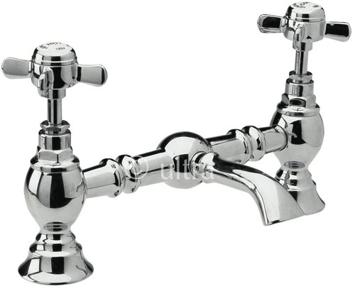 Additional image for 200mm Bridged Basin Mixer (Chrome)