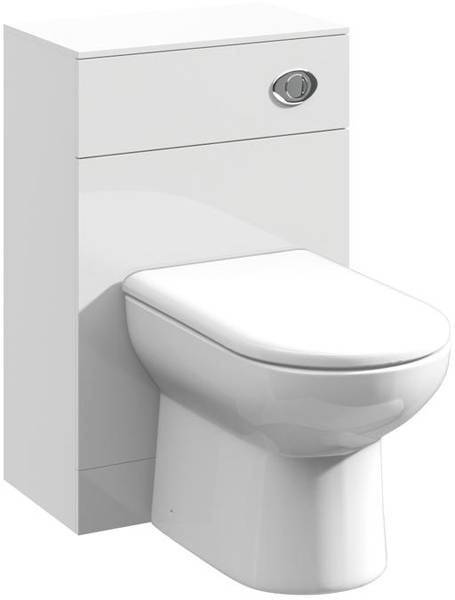 Additional image for 1050mm Vanity Unit With Basin Type 1 & 500mm WC Unit (White)
