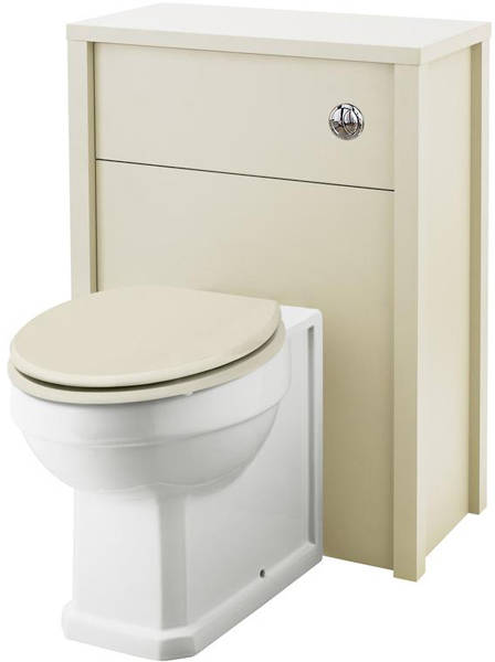 Additional image for 800mm Vanity & 600mm WC Unit Pack (Ivory).
