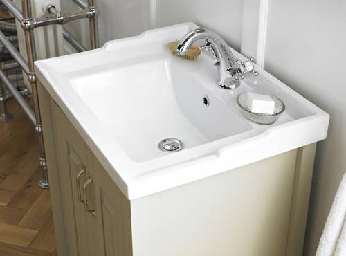 Additional image for 600mm Vanity & 600mm Mirror Pack (Ivory).