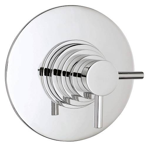 Additional image for Dual Concealed Thermostatic Shower Valve (Chrome).