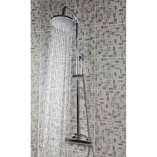 Additional image for Thermostatic Bar Shower Valve With Kit (Chrome).