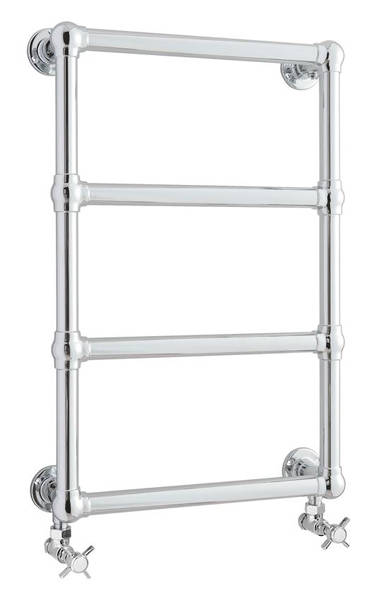 Additional image for Epsom Traditional Towel Radiator H748 x W498 (Chrome).