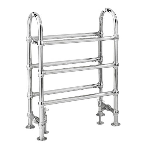 Additional image for Adelaide Traditional Towel Radiator H780 x W685 (Chrome).
