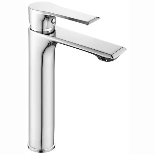 Additional image for Tall Basin Mixer Tap (Chrome).