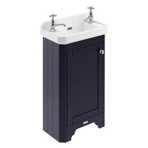 Additional image for Cloakroom Vanity Unit With Basins 515mm (Blue, 2TH).