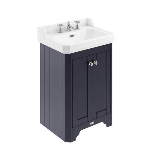 Additional image for Vanity Unit With Basins 595mm (Blue, 3TH).