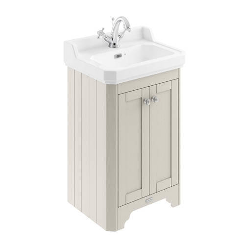 Additional image for Vanity Unit With Basins 560mm (Sand, 1TH).