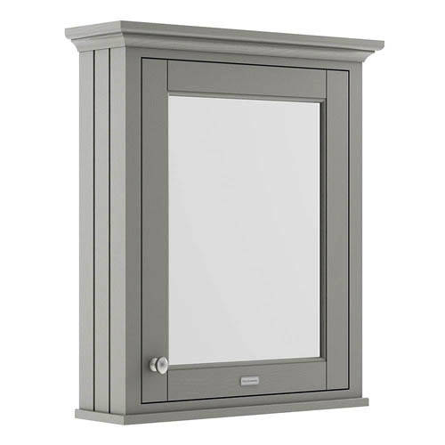 Additional image for Mirror Bathroom Cabinet 600mm (Storm Grey).
