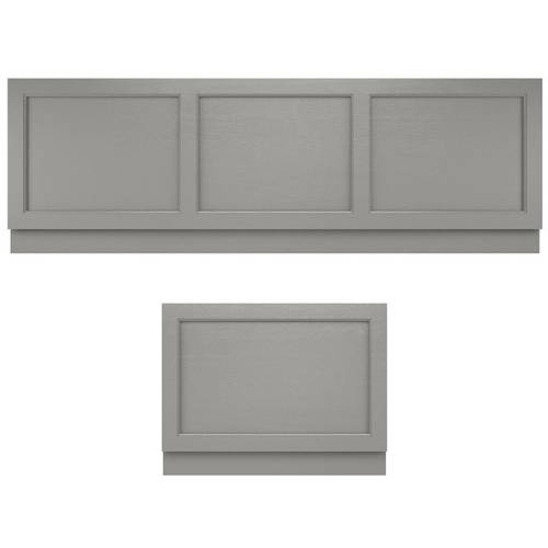 Additional image for Bath Panel Pack, 1700x800mm (Storm Grey).