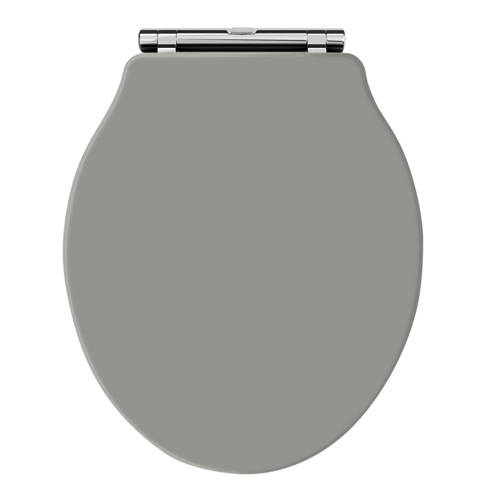 Additional image for Ryther Toilet Seat With Soft Close (Storm Grey).
