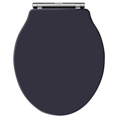Additional image for Ryther Toilet Seat With Soft Close (Twilight Blue).