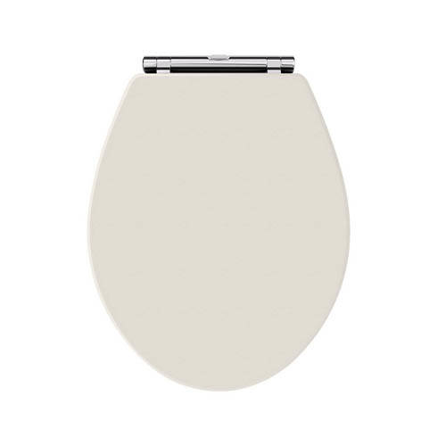 Additional image for Carlton Toilet Seat With Soft Close (Timeless Sand).