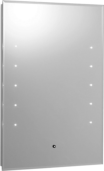 Additional image for Alcina Touch Sensor Backlit Mirror. Size 400x600mm.