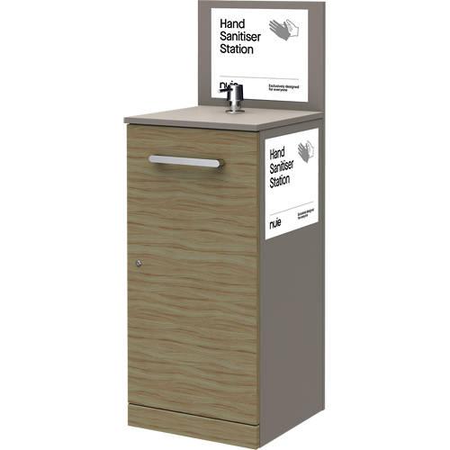 Additional image for 1 x Floor Standing Hand Sanitiser Station & Pump Dispenser.