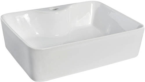 Additional image for Square Free Standing Basin (1 Tap Hole).