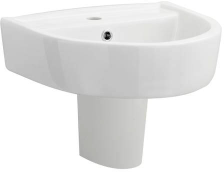 Additional image for Basin & Semi Pedestal (420mm).