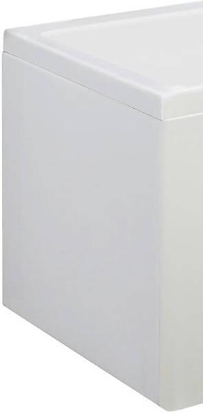 Additional image for Square Side & End Shower Bath Panels (1700x700mm).