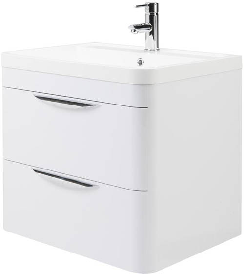 Additional image for 600mm Vanity Unit Pack 1 (Gloss White).