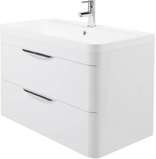 Additional image for 800mm Vanity Unit Pack 2 (Gloss White).