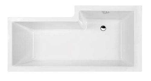 Additional image for Square Shower Bath With Panels & Screen (LH).