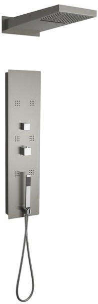 Additional image for Recessed Shower Panel With Waterfall Head.