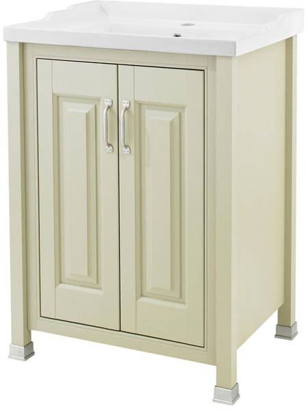 Additional image for 600mm Vanity & 600mm Mirror Pack (Pistachio).
