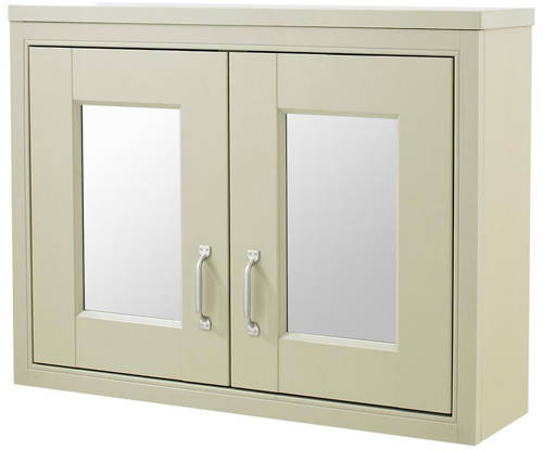 Additional image for 800mm Vanity & Mirror Cabinet Pack (Pistachio).