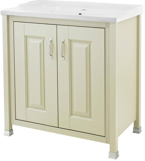 Additional image for 800mm Vanity, 600mm WC & Tall Unit Pack (Pistachio).