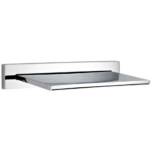 Additional image for Waterfall Shower Head. 250mm (Chrome).