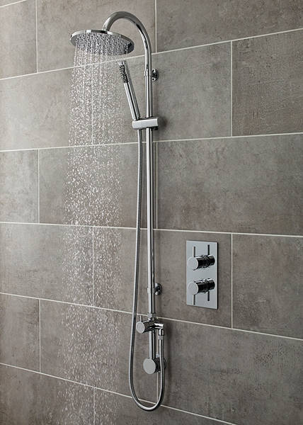 Additional image for Quest Thermostatic Shower Valve With Destiny Shower Kit.
