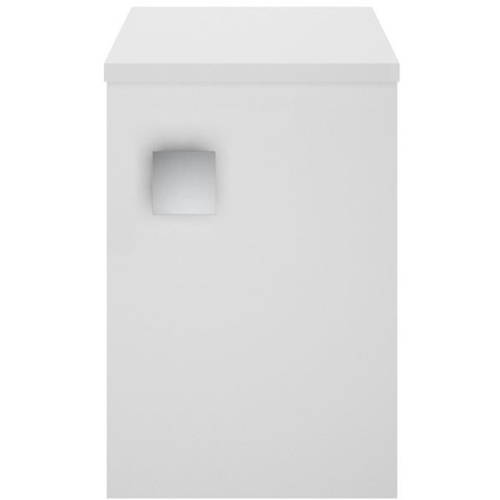 Additional image for Wall Hung Side Storage Unit (300mm, Moon White).
