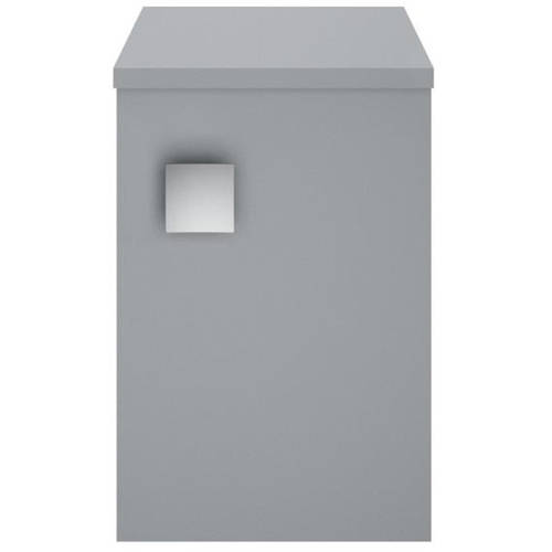Additional image for Wall Hung Side Storage Unit (300mm, Dove Grey).
