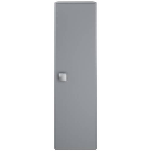 Additional image for Wall Hung Tall Storage Unit (350mm, Dove Grey).
