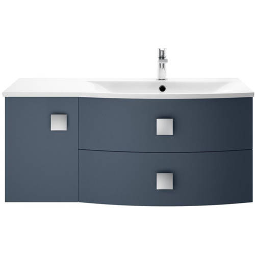 Additional image for Wall Hung 1000mm Cabinet & Basin RH (Mineral Blue).