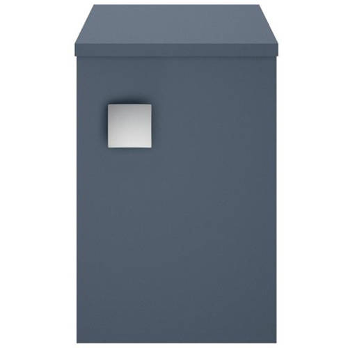 Additional image for Wall Hung Side Storage Unit (300mm, Mineral Blue).