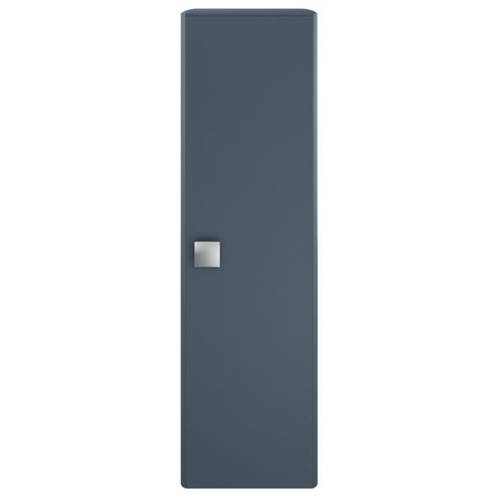 Additional image for Wall Hung Tall Storage Unit (350mm, Mineral Blue).