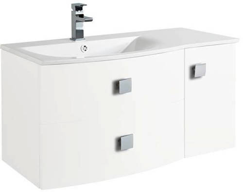 Additional image for Bathroom Furniture Pack 2 (LH, White)