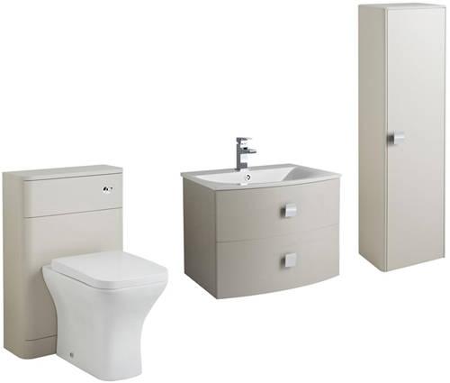 Additional image for Bathroom Furniture Pack 4 (Cashmere).