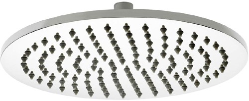Additional image for Round Shower Head (300mm, Stainless Steel).