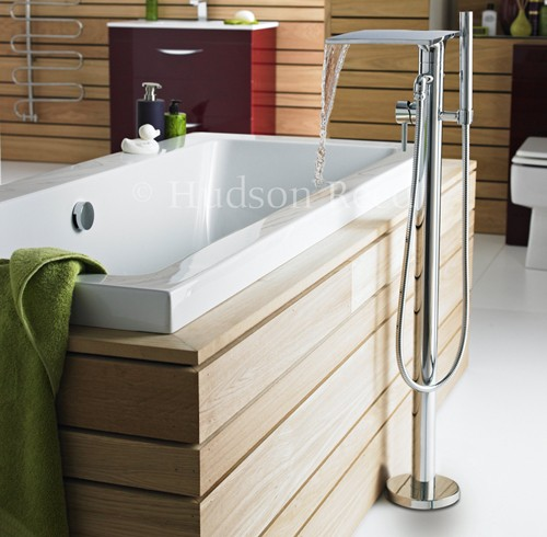 Additional image for Waterfall freestanding Bath Shower Mixer Tap.