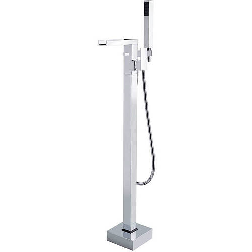 Additional image for Floor Standing BSM Tap With Lever Handle (Chrome).